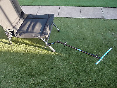 Best Extending Feeder Arm Support Fits Any Fishing Seatbox & Korum Carp Chair