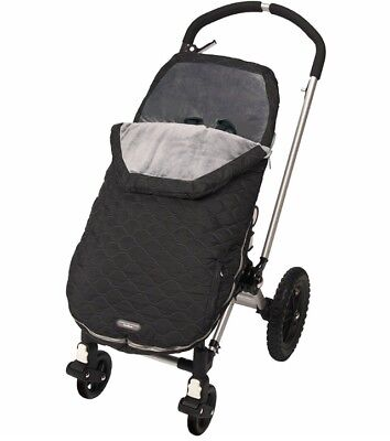 JJ Bundle Me Urban Toddler size Stealth Black Stroller Cover Bunting
