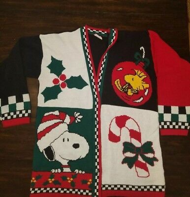 Snoopy ugly Christmas sweater