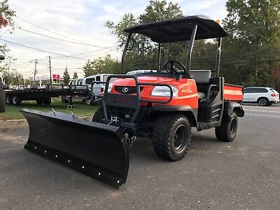 Kubota Rtv900 4X4 Diesel 4X4 Low Hours ,fully Hydraulic Dump, Brand New Plow