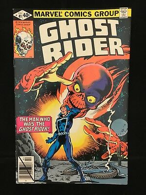 Ghost Rider #41 Vf High Grade! Marvel Comics Bronze Age Ghost Rider!