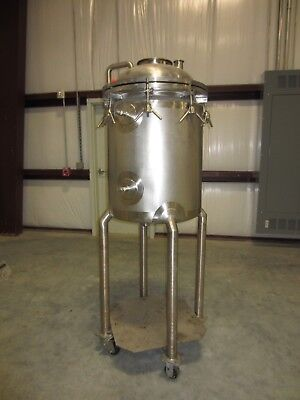 IKA Works 120 liter Stainless Steel Jacketed Reactor