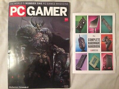 PC Gamer magazine #313 January 2018 + Hardware Handbook (Subscriber Edition)