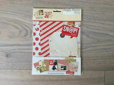 Simple Stories Claus&Co. Snap Pages 6x8 - Neu -