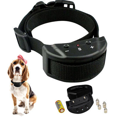 Dog Collar Anti-Bark Anti Barking Electronic Shock Training Stop Barking Control