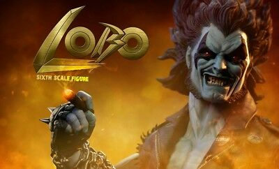 Sideshow Collectibles EXCLUSIVE with Cigar DC Comics LOBO Figure MIB