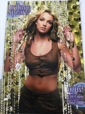 Britney Spears Oops I Did It Again 2000 Tour Programme