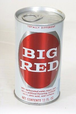 Big Red Soda Can