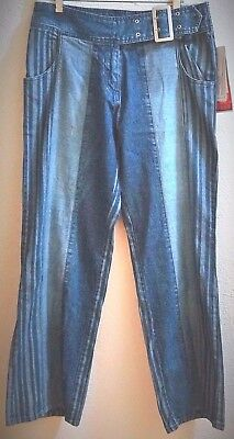 057 -  VINTAGE Old Stock JEANS with tags by SOLO Size 10