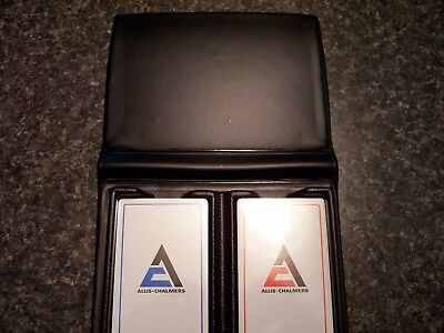 allis chalmers,allis chalmers playing cards,2 unopened decks in the case.SHARP