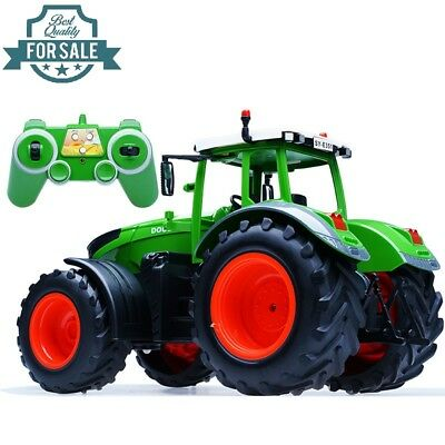 Radio Remote Control 6CH Oversize Farm Tractor Digger Truck 1:16 RC RTR Kid Toy