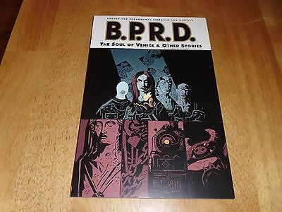 Mike Mignola's B.P.R.D.: Soul of Venice and Other Stories PB Graphic Novel NEW