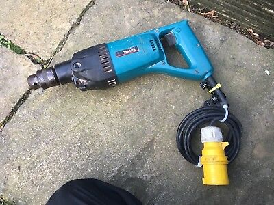 Makita 8406 13mm Diamond Core and Hammer Drill Only 110volt Working