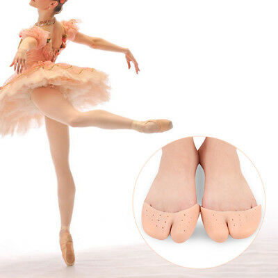 EP_ Silicone Gel Ballet Pointe Shoe Pads Cushions Toe Cap Cover Protector Rakish
