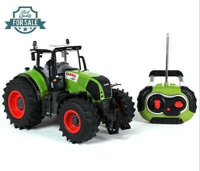 Radio Remote Control 4CH 1:16 Oversized Farm Tractor Truck RC RTR Kids Toy Car