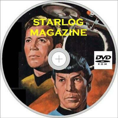 Starlog Magazine 370 + Issues & Specials on dvd , Star Trek, Star Wars