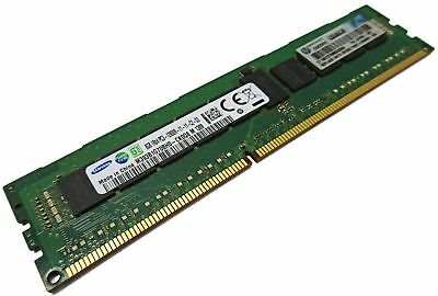 HP original Samsung 8GB 1Rx4 PC3 - 12800R -11 -11 -C2 -D3 Server RAM ECC Reg