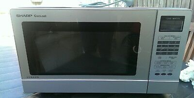 Sharp microwave oven - 1200w - R380L