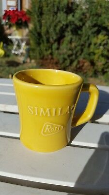 Similac Ross Advertising Mug vintage yellow, made by McCoy USA Pottery