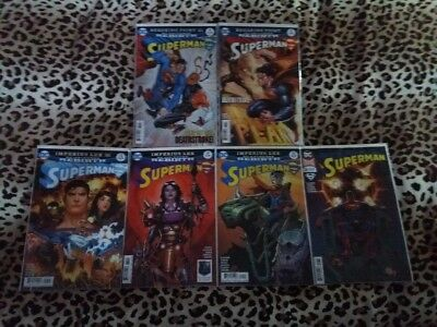 Superman 30 31 32 33 34 35 Imperius Lex + Breaking Point Deathstroke Lex Luthor
