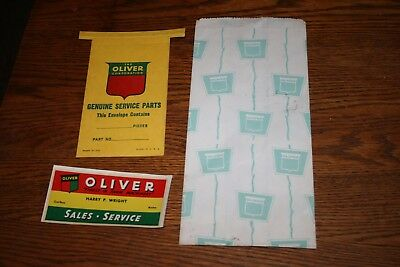 Oliver Tractor Corporation Advertising Sales Lot