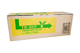Kyocera TK-8609 Yellow Copier Toner - 20,000 pages