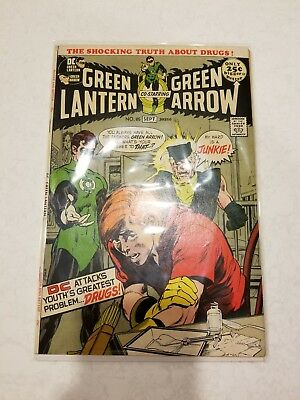 Green Lantern #85 ( 1971 ) - Neal Adams Cover and Art - Drug Issue - High Grade