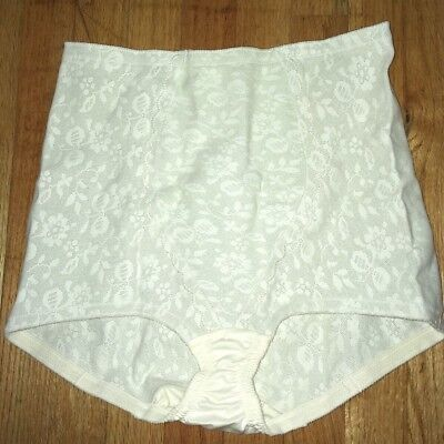 PLAYTEX VTG 70s ~ 18 HOUR ~ RUBBER GIRDLE BRIEF/PANTY ~ ROOMY GUSSET ~ USA 3XL