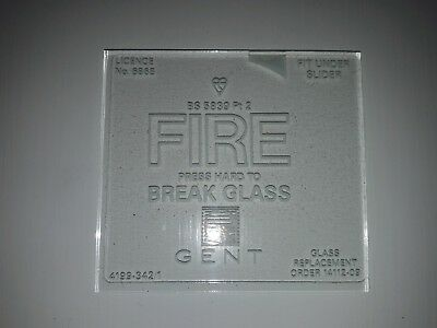 GENT Spare Call Point Break Glass Pack
