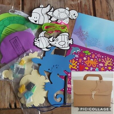 Under the Sea Themed Arts and Crafts Activity Gift Set Pack