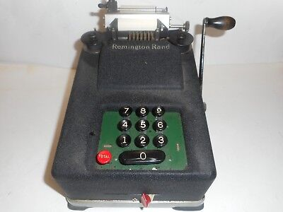 Vintage 1940s Remington Rand Adding/Billing/Bookkeeping Machine Serial # M22406