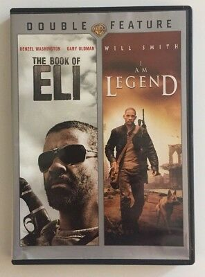 Double Movie Dvd Feature: The Book Of Eli & I Am Legend