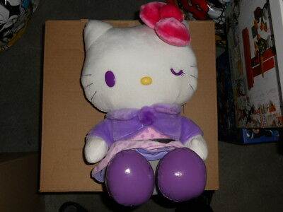Sanrio store Hello Kitty Plush Purple no tag not played with