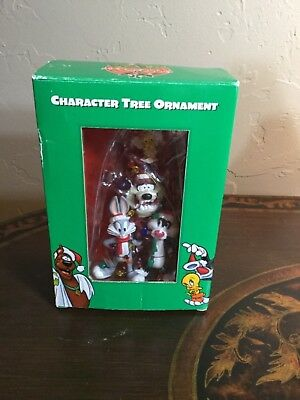 Warner Brothers Character Tree Ornament Bugs Taz Sylvester Tweety Christmas