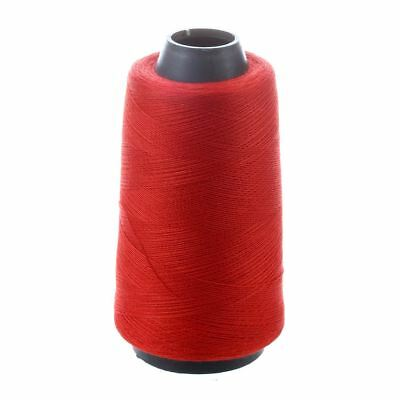 Red Cotton Sewing Thread Reel Spool Tailoring String 500m B7S8 O5I7