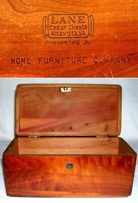 Miniature CEDAR LANE CEDAR CHEST ~ HOME FURNITURE Co. ~ McCOMB, MISSISSIPPI
