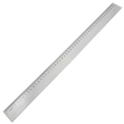 50cm Clear Plastic Measuring Long Straight Centimeter Ruler W1P1 A1S3