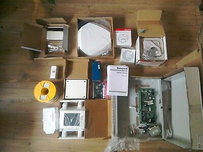 Honeywell Galaxy 48 Security System, Fire Safety including Touch pad