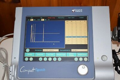 Quantel compact touch screen A-scan Biomter