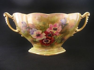 RARE Royal Winton Grimwades Art Deco Anemone English China Jardinière Posy Bowl