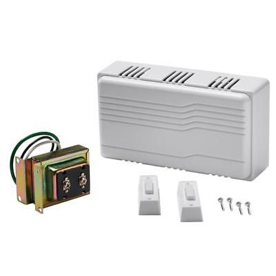 Wired Door Bell Contractor Kit with Door Chime & Two Push Buttons 100406918