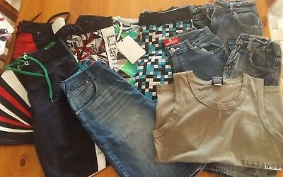 Boys Size 10 Shorts & Singlet Lots New With Tags Bulk Lot