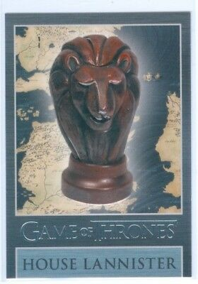"House Lannister ""map Marker Sigil Card Mm1"" Game Of Thrones Season 3"