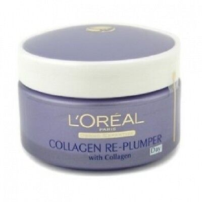 L'oreal Anti Ageing action Collagen Re- Plumper Day/Night Cream 50ml