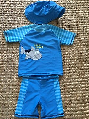 Sprout Swim Top, Shorts And Hat - Size 2 - BNWOT