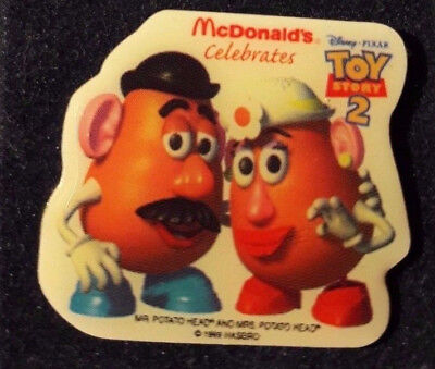 Original Mcdonald Mcdonald MCDPIN Badge  -  Mr. and Mrs. /  Toy Story 2