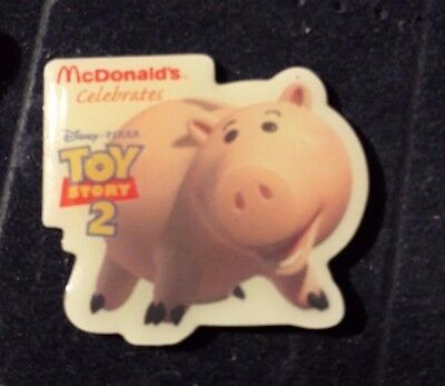 Original Mcdonald Mcdonald MCDPIN Badge  -  Piggy Bank  /  Toy Story 2