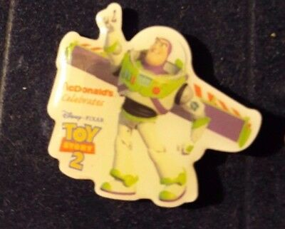 Original Mcdonald Mcdonald MCDPIN Badge  -  Buzz Lightyear  /  Toy Story 2