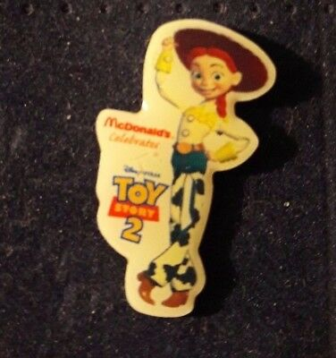 Original Mcdonald Mcdonald MCDPIN Badge  -  Jessie Rare /  Toy Story 2