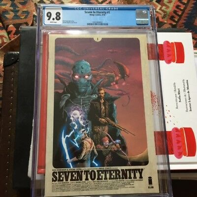 Seven to Eternity #1A 1st Printing (2016) CGC 9.8 Remender/Opena A Classic